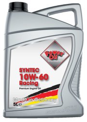 Poweroil Syntec 10W 60 Racing 5L 01