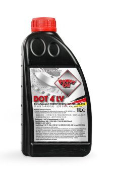 POWER OIL Brake Fluid DOT 4 LV