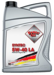 Poweroil Syntec 5W 40 LA 5L 01