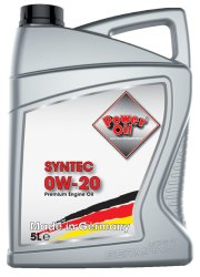 Poweroil Syntec 0W 20 5L 01